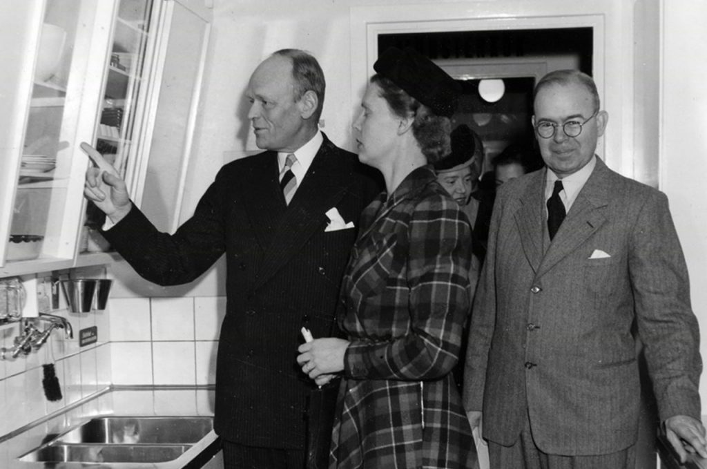 kökets historia 1940-talet
