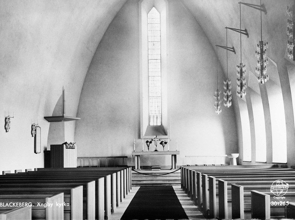 ARKITEKT BJÖRN HEDVALL kyrka