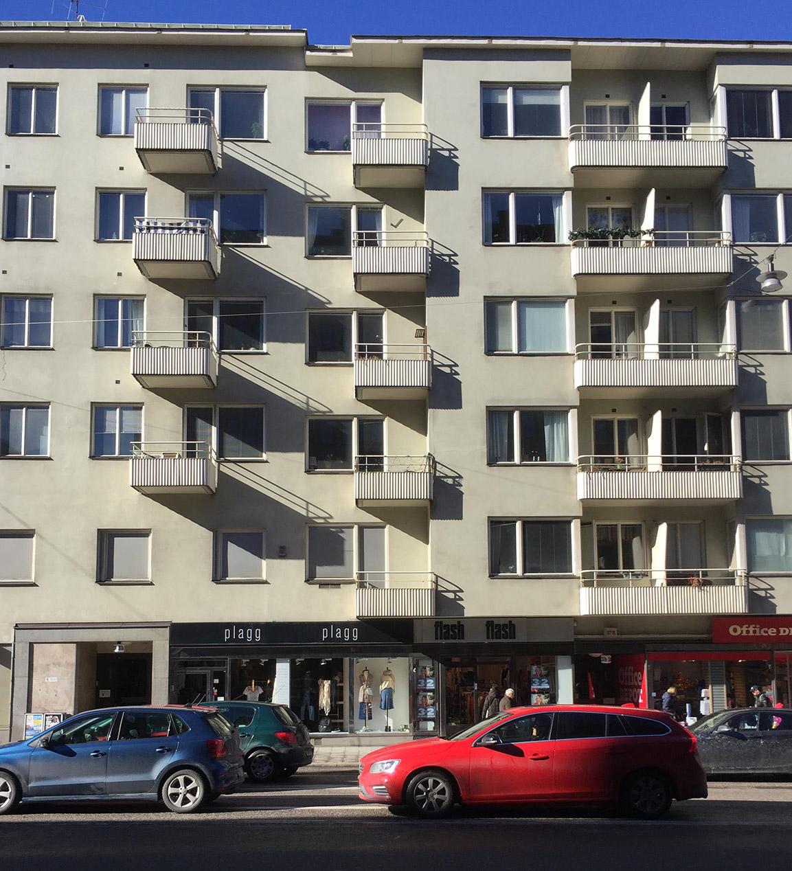 ARKITEKT STURÈ FRÖLEN fasad