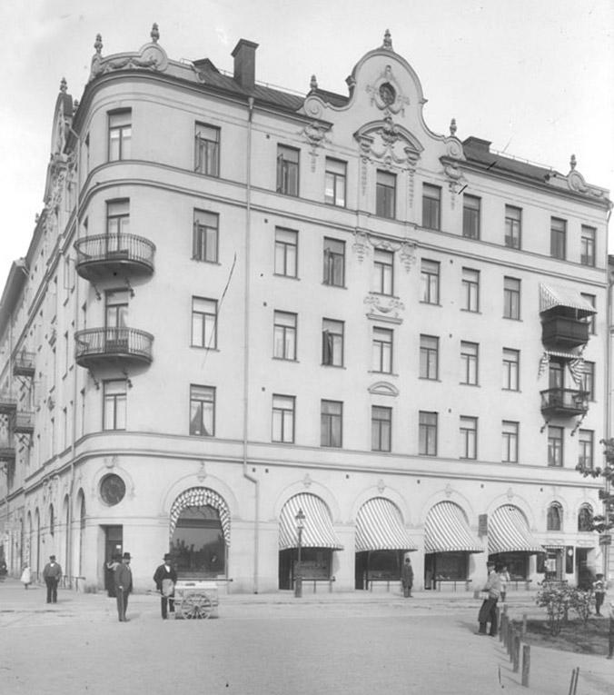 ARKITEKT DORPH & HÖÖG fasad