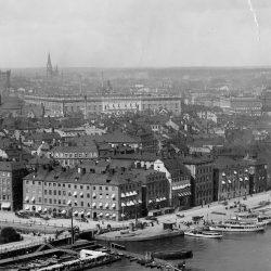 Gamla stan, stockholm, vy