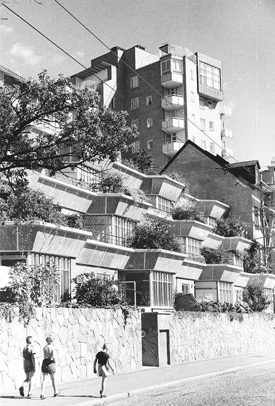 stadsdel GRÖNDAL fasader