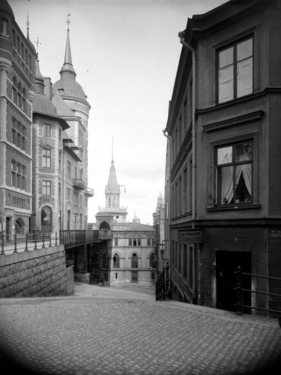 stadsdel Mariaberget gata