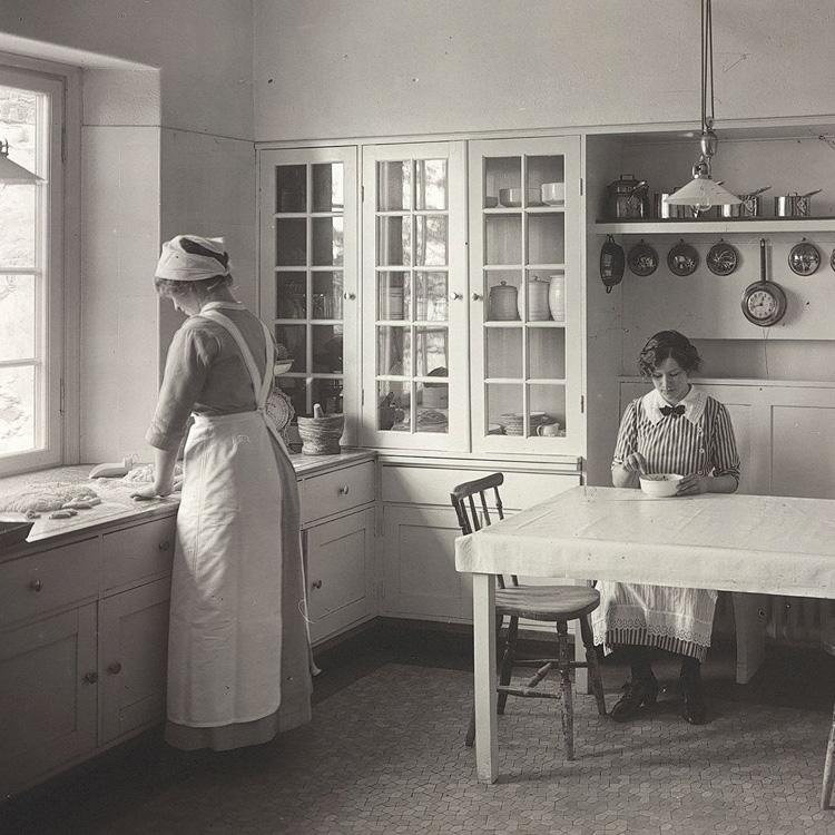 kökets historia rinnande vatten