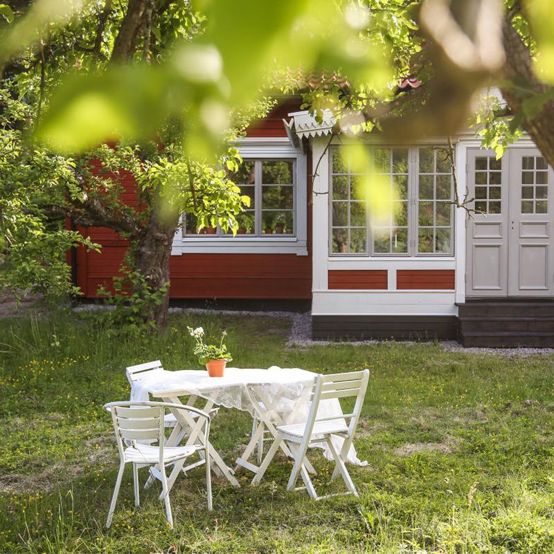 TRÄDGÅRDSARKITEKTEN KARIN JANRIK trädgårdsmöbler