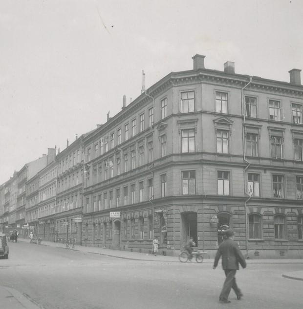 GRÅARK Kvarteret Geten, sid. 001  Stadsmuseet i Stockholm GRÅARKSSAMLINGEN , Gråark  Stadsmuseet i Stockholm